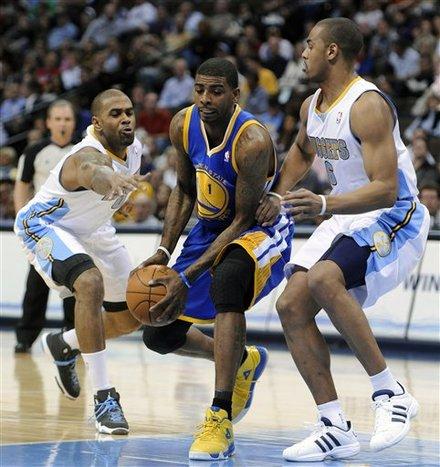 Warriors Nuggets Basketball