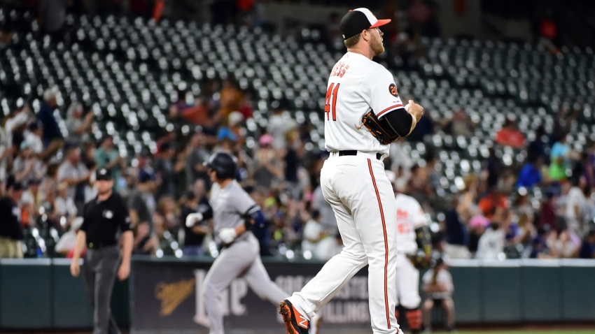 [CSNBY] Yankees' Camden Yards home-run record highlights Giants' lack of power at home