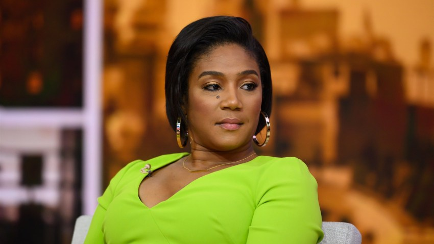 "Tiffany Haddish appears on NBC's ""TODAY"" show on Aug. 7, 2019."