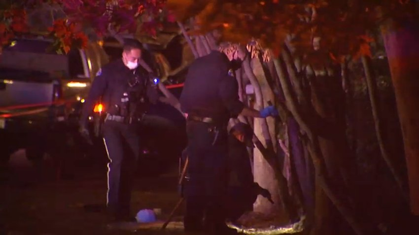 Police investigate a triple shooting in San Jose.