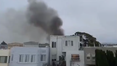San Francisco Firefighters Contain 2 Alarm House Fire No