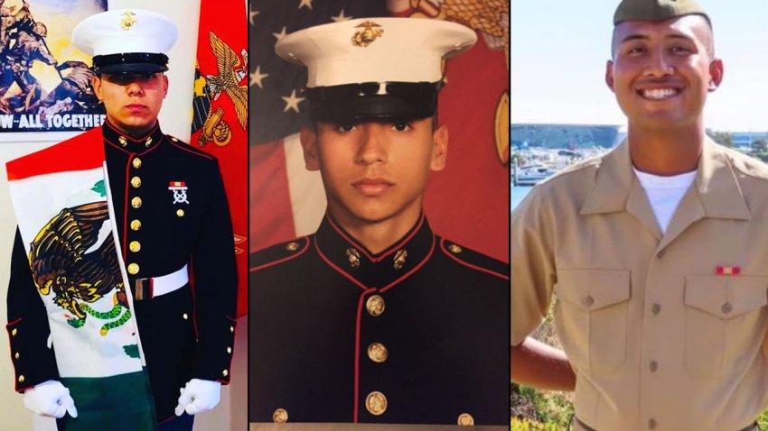 Cpl. Andres Barranca (left), Cpl. Cesar Villanueva (center), Lpcl. Bryan Baltierra (right).