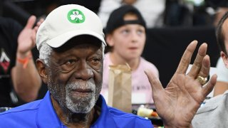 Basketball Hall of Fame member Bill Russell.