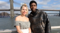 Sienna Miller Says Chadwick Boseman Helped Cover Her Salary for '21 Bridges'