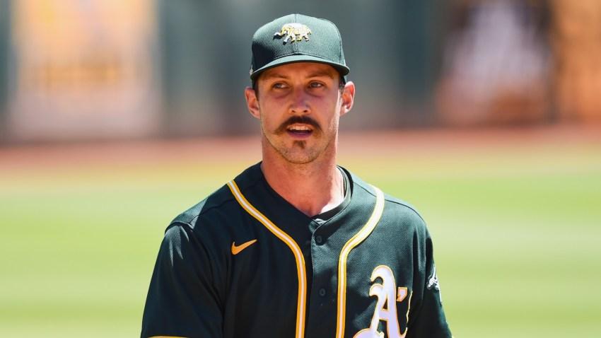Oakland Athletics pitcher Daniel Mengden.