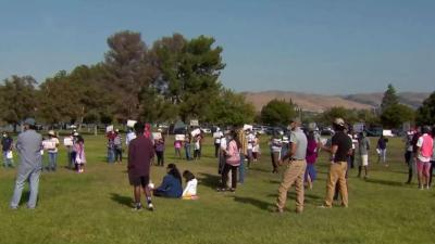 Dozens March for Immigration Reform in Fremont