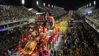 Rio's Carnival parade