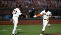 Visitors at Home, Giants Hit 3 HRs and Beat Mariners 9-3
