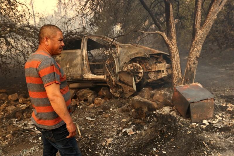 PHOTOS: Napa, Sonoma County Residents Wake Up to Fires