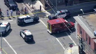 Authorities investigate a triple shooting in Richmond.