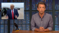 'Late Night': Closer Look at Trump Blaming 'Blue States' for COVID Deaths