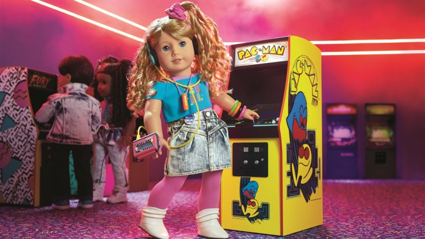 American Girl's latest doll, Courtney