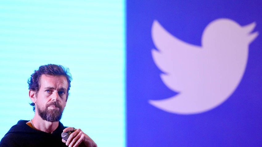 Twitter CEO and cofounder Jack Dorsey addresses students at the Indian Institute of Technology (IIT), Nov. 12, 2018, in New Delhi, India.
