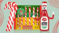 Ketchup Candy Canes Are the Christmas Treats No One Asked For