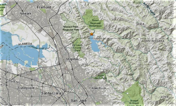 3 Small Earthquakes Shake Northeast Of San Jose Usgs Nbc Bay Area