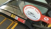 San Jose Airport Installs Virus-Zapping Lights on Escalator Handrails