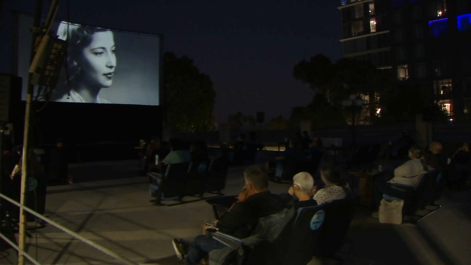 Rooftop Showing of 'RBG' Held in Downtown San Jose