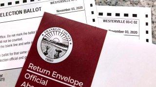 Ohio absentee ballots