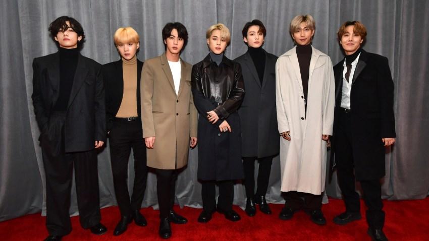 South Korean K-pop group BTS