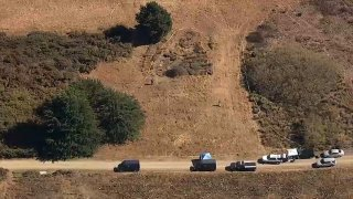 Officials investigate after human remains were found at San Bruno Mountain State and County Park.