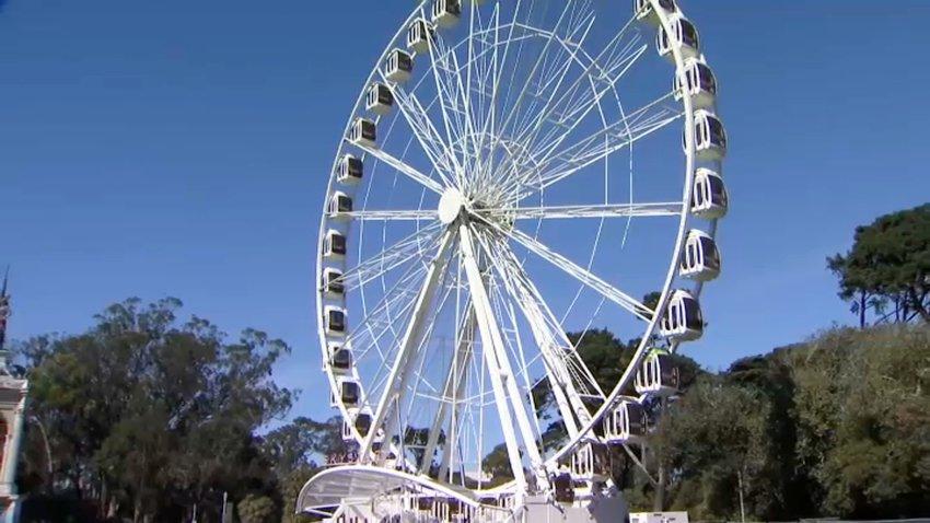 Observation wheel in San Francisco's Golden Gate Park.