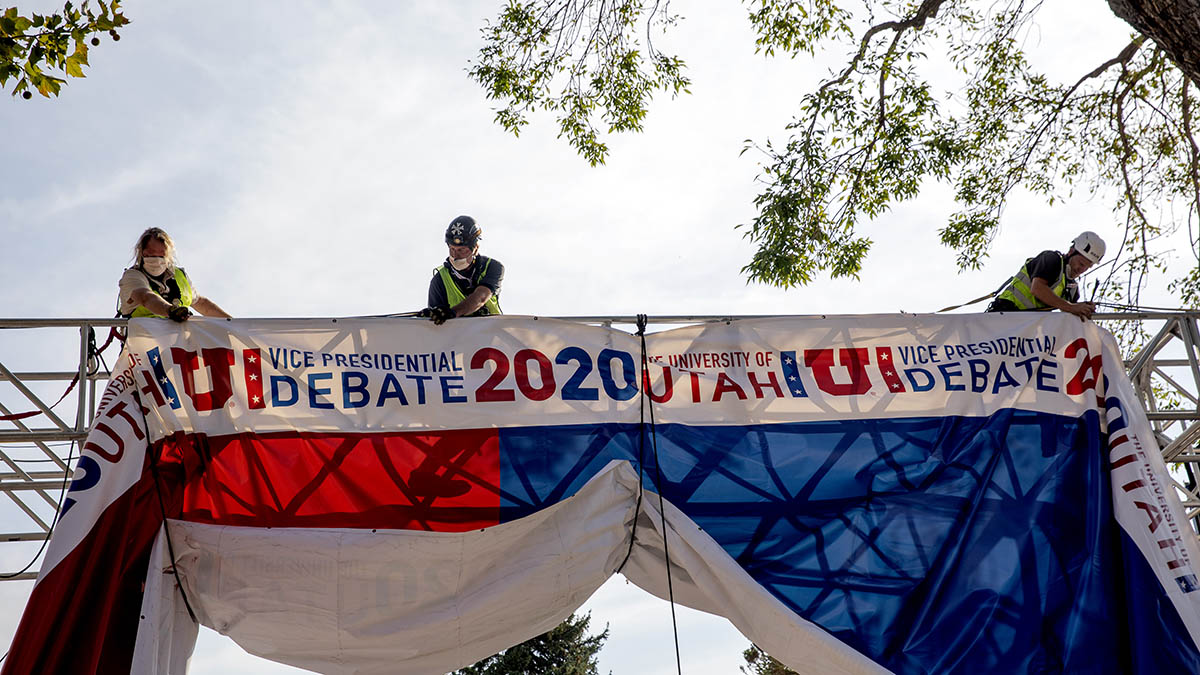 Mike Pence and Kamala Harris VP Debate Will Have Plexiglass Barrier Because of Coronavirus Concerns – NBC Bay Area