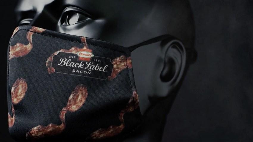 Hormel's bacon face mask