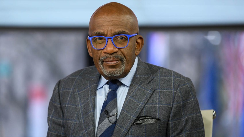 "In this Nov. 19, 2019, file photo, Al Roker on set of ""The TODAY Show"" in New York City."