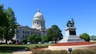 Arkansas State Capitol building Little Rock
