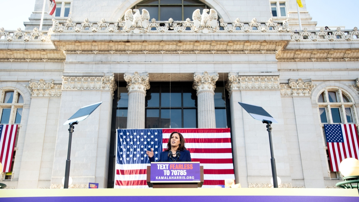 Oakland Native Vice President Elect Kamala Harris Shouted Out By A S Nbc Bay Area