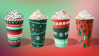 Starbucks holiday cups