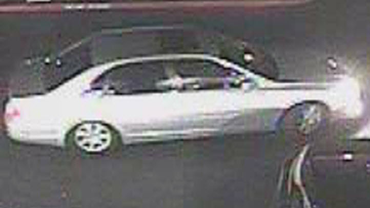 A vehicle believed to be connected to an attack at a San Jose Foodmaxx.