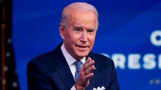 President-Elect Joe Biden speaks