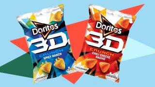 Doritos 3D Crunch chips