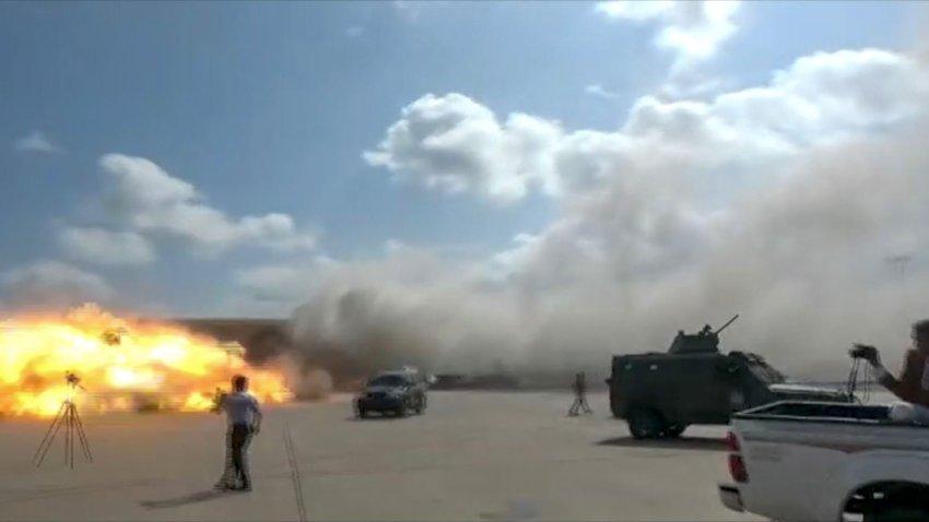 Aden Airport Blast -- Yemen