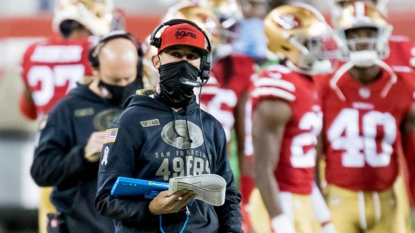 San Francisco 49ers head coach Kyle Shanahan.