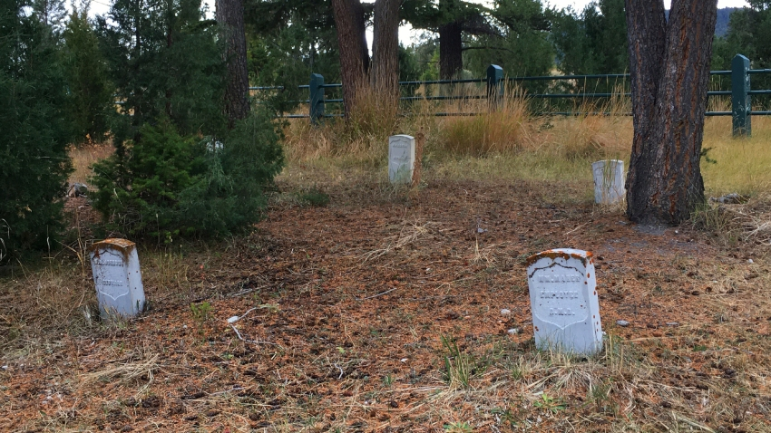 Fort Yellowstone Cemetery