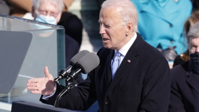 How President Biden's Inaugural Address Compared With JFK, Bill Clinton and Ronald Reagan's Speeches