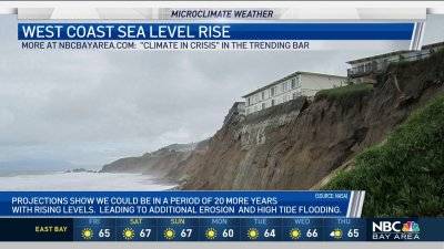 West Coast Sea Level Rising Faster Than Global Average