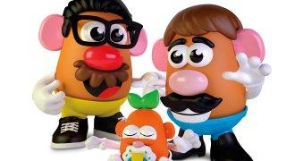 This photo provided by Hasbro shows the new Potato Head world