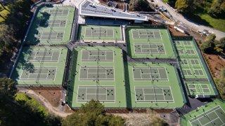 The Goldman Tennis Center in Golden Gate Park.