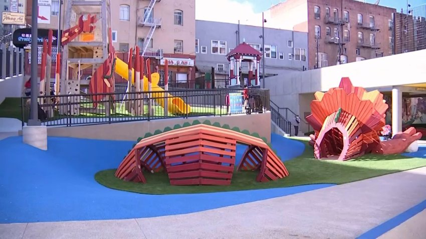 "Willie ""Woo Woo"" Wong Playground in San Francisco."