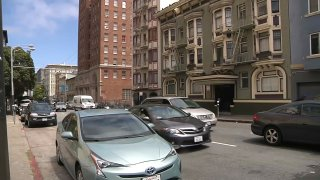Vehicles in San Francisco.
