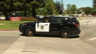 Sunnyvale police car