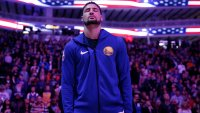 Klay Thompson Could Play for Warriors Until 40, Father Mychal Believes