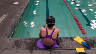 12-year-old swimmer seen at a pool in Utah