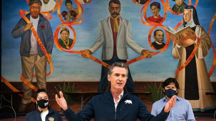 Gov. Gavin Newsom in LA