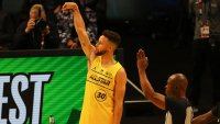 Warriors' Steph Curry Wins Thrilling NBA 3-Point Contest