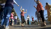 San Mateo Neighbors Began Dancing the Hokey Pokey a Year Ago. They Haven't Stopped