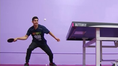 Bay Area Table Tennis Player Gets Ready for Tokyo Olympic Games